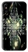 Snowflake Bubble Glass IPhone Case