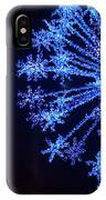 Snowflake Sparkle IPhone Case
