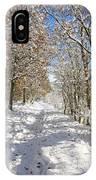 Snowpath IPhone Case