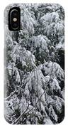 Snowy Branches Winter IPhone Case
