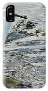 Snowy Egret 2 IPhone Case