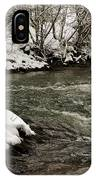 Snowy Mountain River IPhone Case