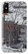 Snowy Pond IPhone Case