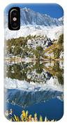 Snowy Reflections On Lake IPhone Case