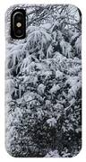 Snowy Winter Branches IPhone Case