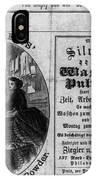 Soap Advertisement, C1866 IPhone Case