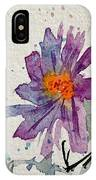 Soft Asters IPhone Case