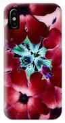 Soft Scarlet Floral IPhone Case