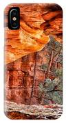Soldiers Pass Viewpoint Sedona Arizona IPhone Case