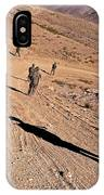Soldiers Patrol To A Village IPhone Case