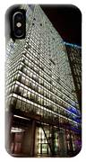 Sony Center At Night IPhone Case