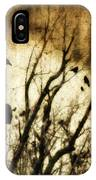 Soulful Crow IPhone Case