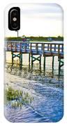 Soundside Park Surf City IPhone Case