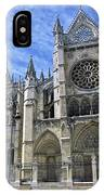 South Facade Of Leon White Gothic IPhone Case
