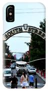 South Street - Philadelphia IPhone Case