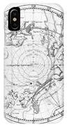 Southern Celestial Map IPhone Case