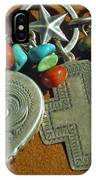 Southwest Style Jewelry With Texas Star IPhone Case