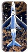 Space Shuttle Piggyback IPhone Case