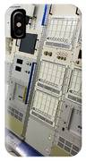 Space Station Equipment Racks IPhone Case