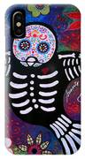 Sparrow Day Of The Dead IPhone Case