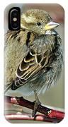 Sparrow IIi IPhone Case