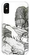 Sparrow In Whitby IPhone Case