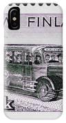 Speedy Old Bus IPhone Case