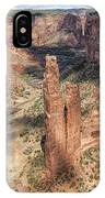 Spider Rock - Canyon De Chelly IPhone Case
