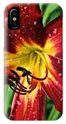 Spiderman The Day Lily IPhone Case