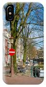 Spiegelgracht 36. Amsterdam IPhone Case