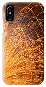 Spinning Fire IPhone Case