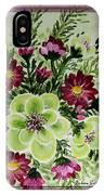 Spiral Bouquet  IPhone Case