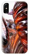 Spiral Dimension Abstract IPhone Case