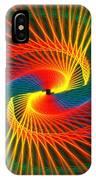 Spiral Rainbow  IPhone Case
