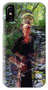 Spirit Rising From The Creek IPhone Case