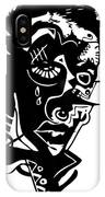 Splatter Man IPhone Case