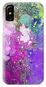 Splattered Colors Abstract IPhone Case