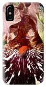 Splattered Iris IPhone Case