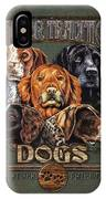 Sporting Dog Traditions IPhone Case by JQ Licensing