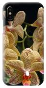 Spotted Orchids IPhone Case