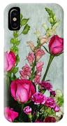Spray Of Flowers IPhone Case