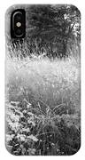 Spring Field Black And White IPhone Case