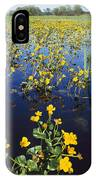 Spring Flood Plains With Wildflowers IPhone Case