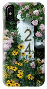 Spring Flowers And Fencepost IPhone Case