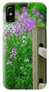 Spring Phlox 6074 IPhone Case