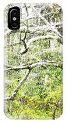 Spring Snow Along Williams River Scenic Byway IPhone Case