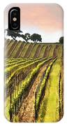Spring Vineyard IPhone Case