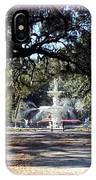 Spring Walk Through Forsyth Park IPhone Case