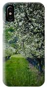 Springtime In The Orchard II IPhone Case
