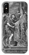 St. Ambrose & Theodosius IPhone Case